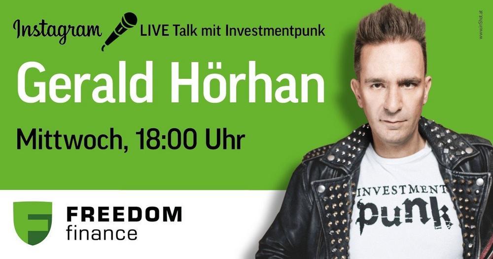 Instagram LIVE Talk mit Investmentpunk Gerald Hörhan und Andrey Wolfsbein (Sonstige Veranstaltung | Online)