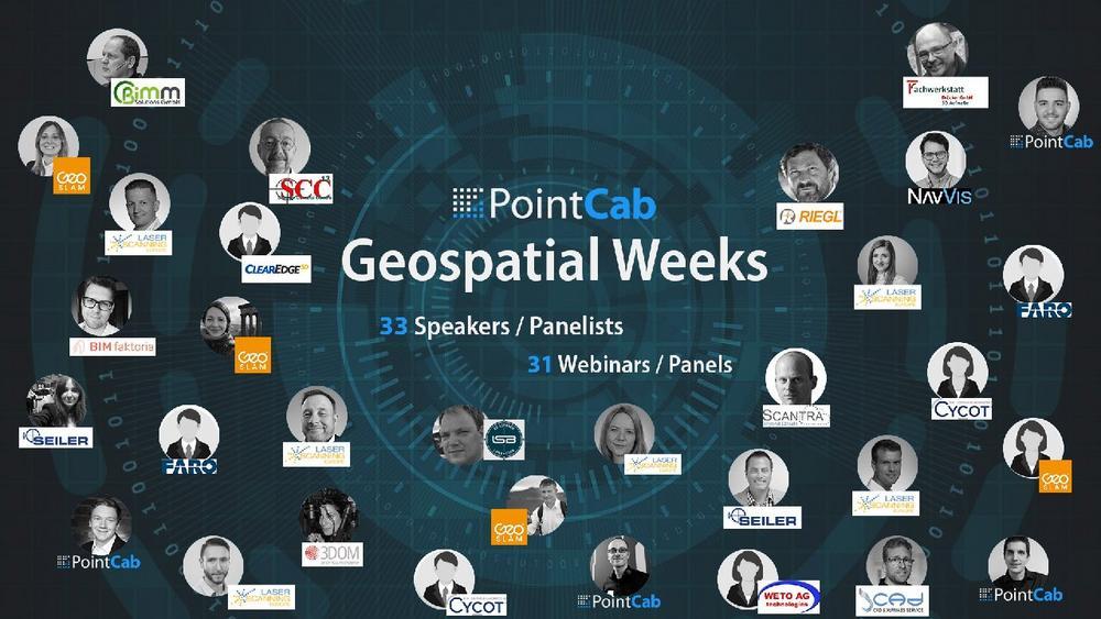 PointCab Geospatial Weeks (Webinar | Online)