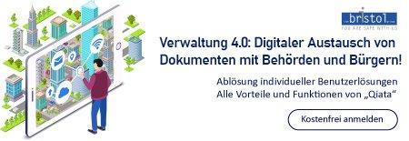 Verwaltung 4.0: Digitaler Austausch von Dokumenten mit Behörden und Bürgern! (Webinar | Online)