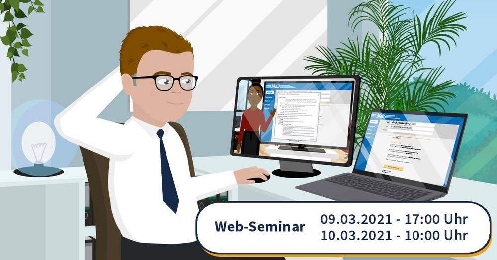 Increase Your Skills lädt ein zum Anti-Phishing Web-Seminar: So analysieren Sie den E-Mail-Header (Webinar | Online)