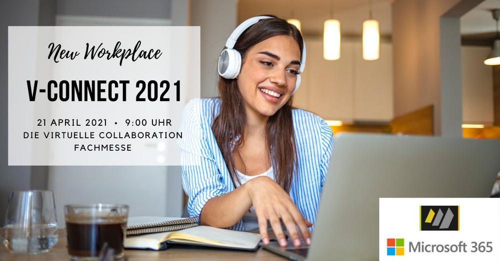 v-connect 2021 die virtuelle Fachmesse zum Thema Collaboration (Messe   Online)