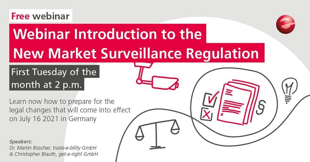 Introduction to the Market Surveillance Regulation 2021 (Webinar | Online)