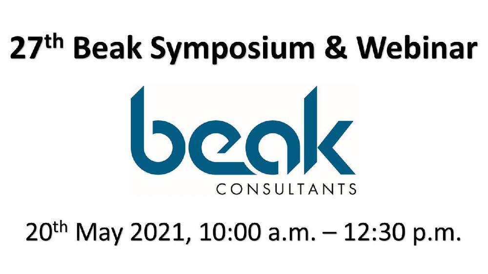 Beak Symposium – Pre-Announcement (Webinar | Online)