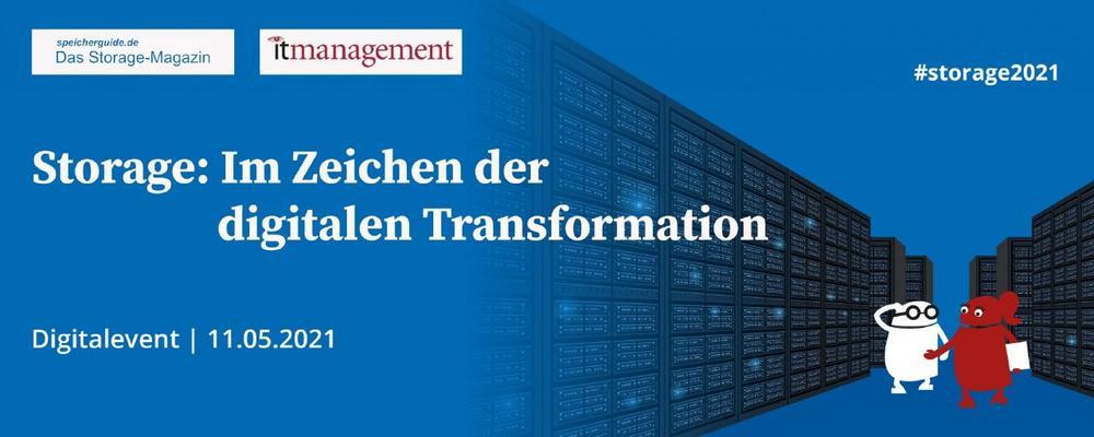 Storage: Im Zeichen der digitalen Transformation (Konferenz | Online)
