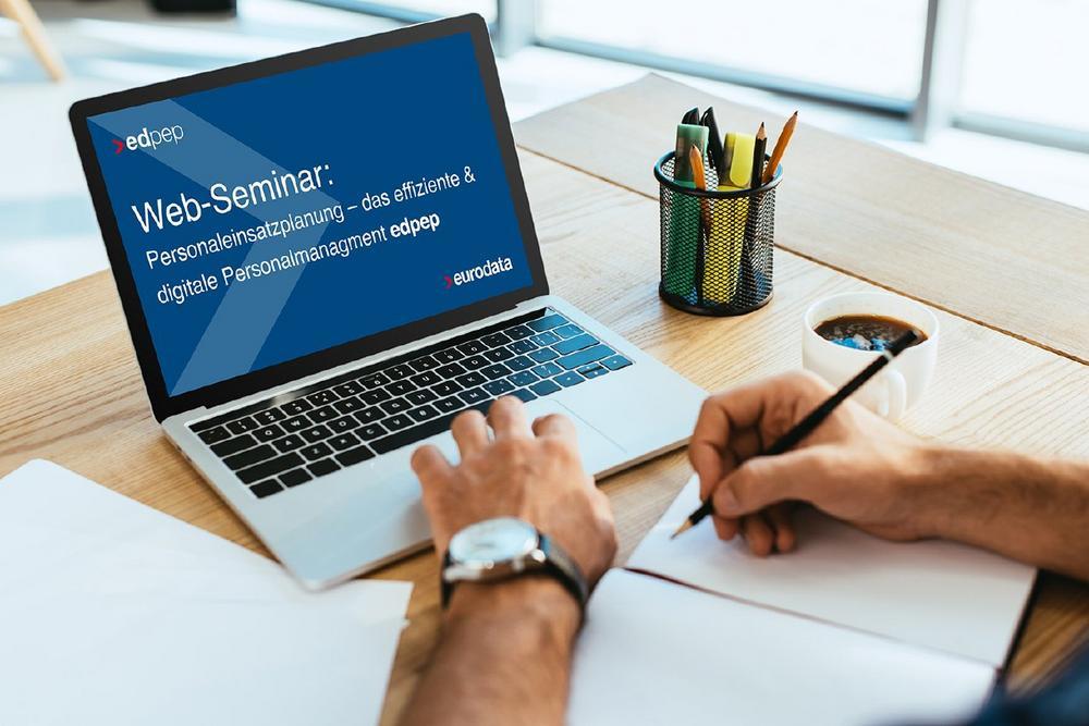 Personaleinsatzplanung – das effiziente & digitale Personalmanagement  edpep – ein Überblick für Int (Webinar | Online)