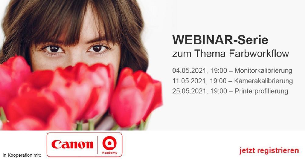 Webinar-Serie in Kooperation mit der Canon Academy: Monitorkalibrierung (Webinar | Online)