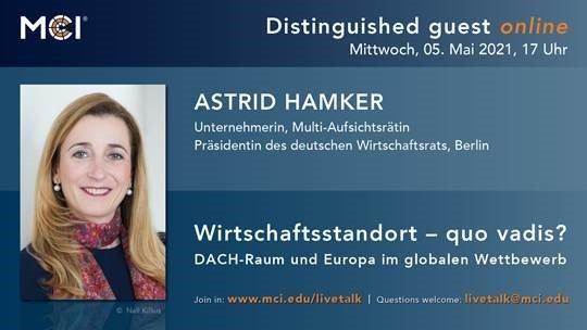 Wirtschaftsstandort – quo vadis? DACH-Raum und Europa im globalen Wettbewerb. (Seminar | Online)