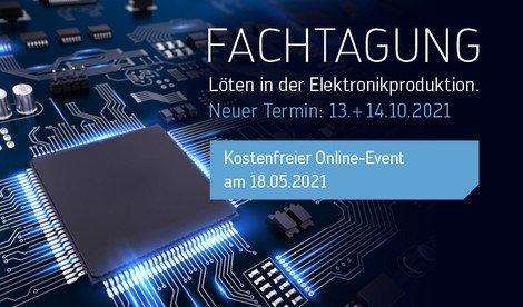 Löten in der Elektronikfertigung – ACHTUNG: NEUES DATUM! (Konferenz | Wertheim)