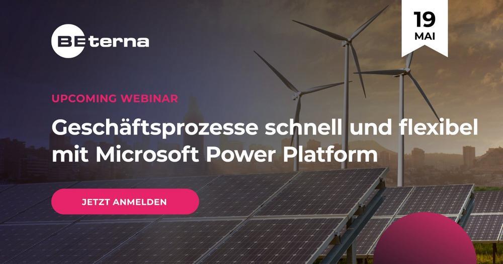 Geschäftsprozesse schnell und flexibel mit Microsoft Power Platform automatisieren (Webinar | Online)