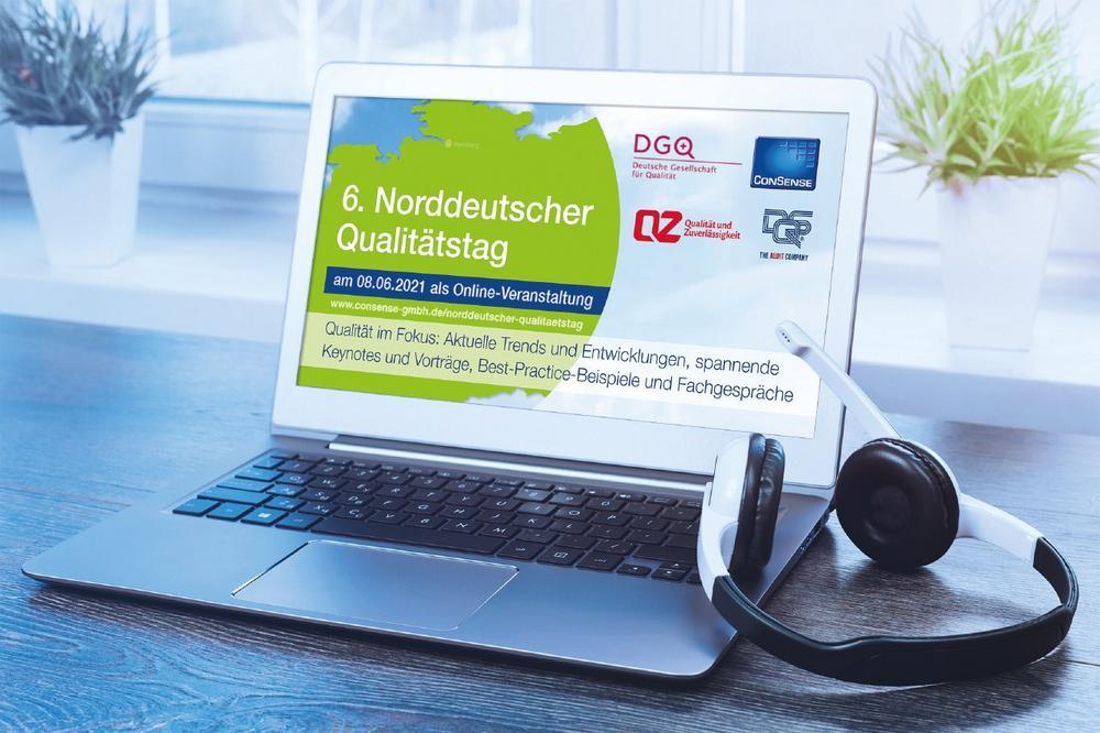 6. Norddeutscher Qualitätstag am 8. Juni 2021: Praxisforum für das Prozess- und Qualitätsmanagement (Webinar | Online)