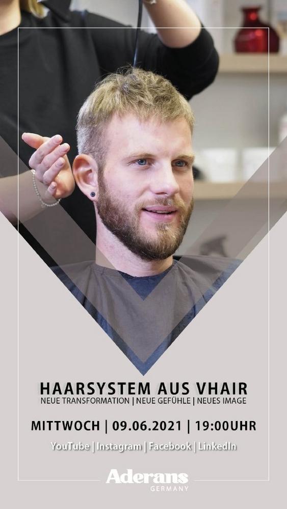 LIVE SHOW | VHair Haarteile (Vortrag | Online)