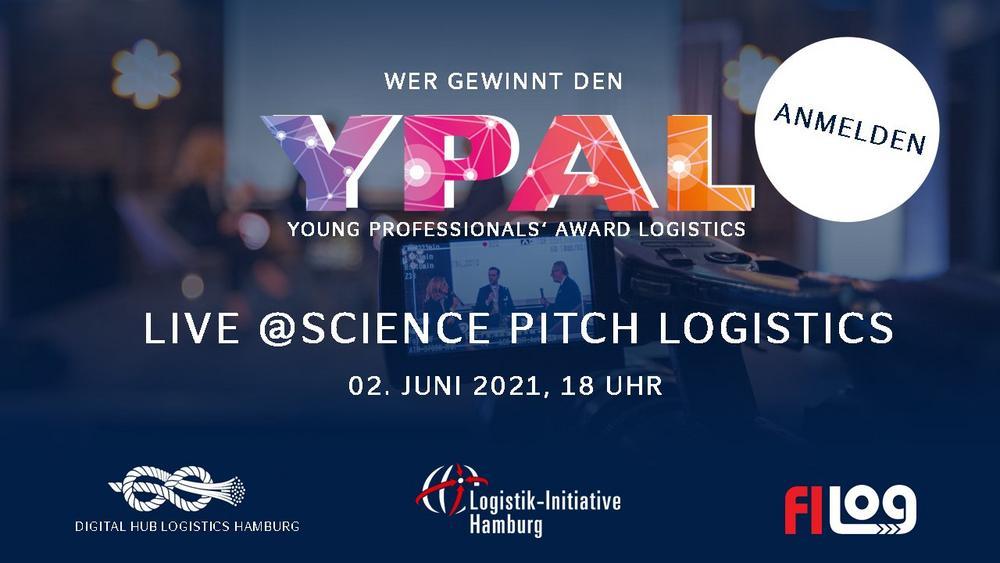 Science Pitch Logistics & Verleihung des Young Professionals' Award Logistics (Networking-Veranstaltung | Online)
