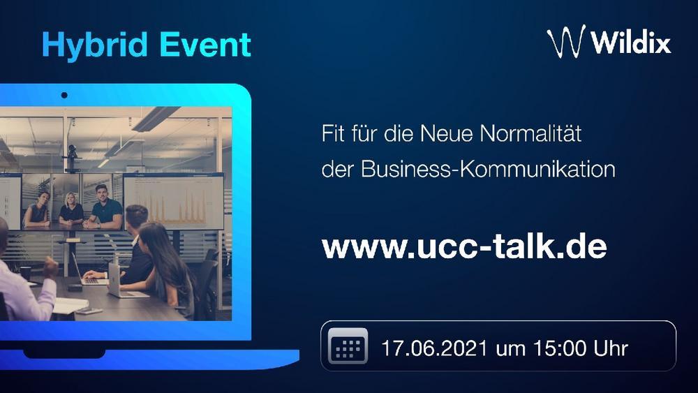 UCC Talk by Wildix: Fit für die Neue Normalität (Vortrag | Online)