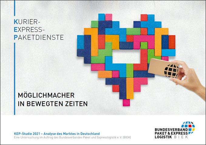 PRESSEKONFERENZ: Einladung zur Vorstellung der KEP-Studie 2021 (Pressetermin | Berlin)