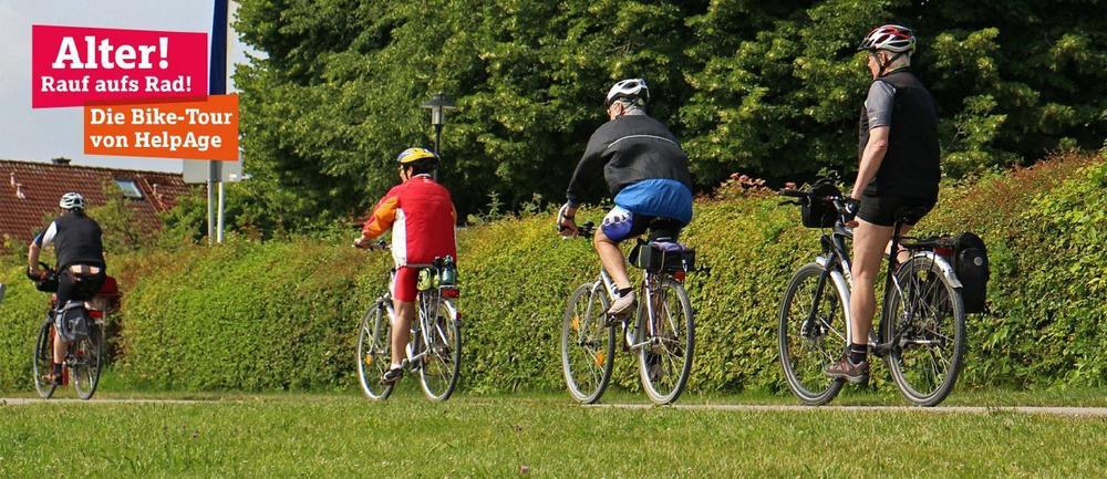 Alter! Rauf aufs Rad! Die Bike-Tour von HelpAge (Sonstige Veranstaltung | Osnabrück)
