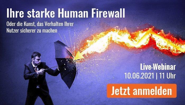 Ihre starke Human Firewall (Webinar | Online)