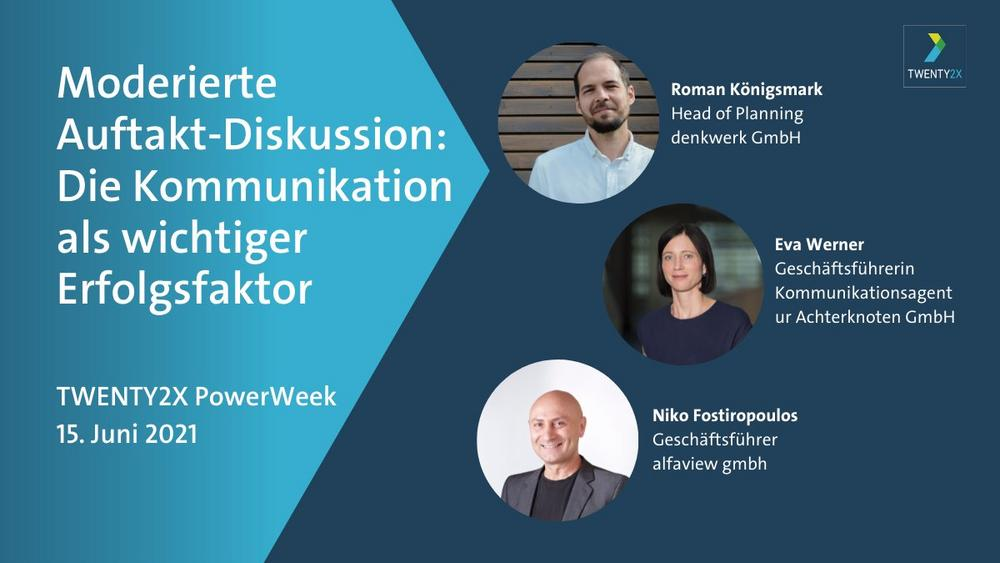 Auftaktdiskussion PowerWeek Kommunikation (Sonstige Veranstaltung   Online)