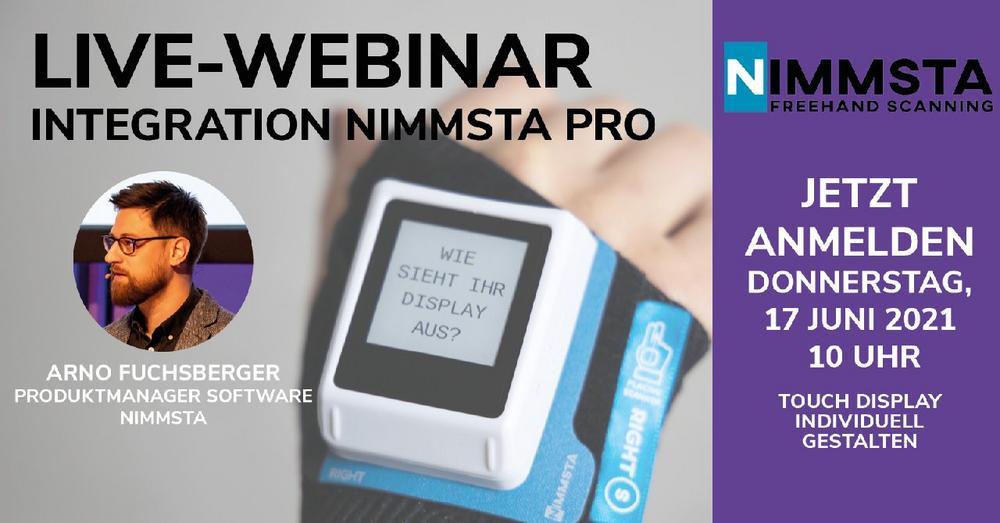 WEBINAR NIMMSTA PRO: Integration (Webinar | Online)