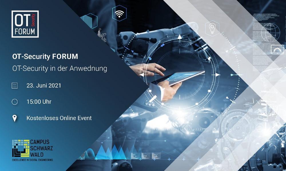 OT-Security Forum – OT-Security in der Anwendung (Vortrag | Online)