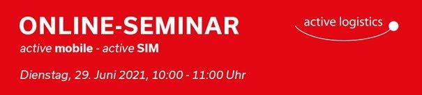 active mobile und active SIM (Seminar   Online)