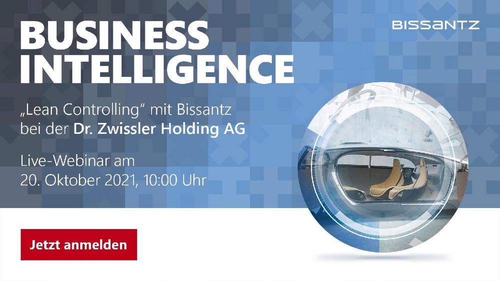 Live-Webinar: Business Intelligence bei Dr. Zwissler (Webinar   Online)