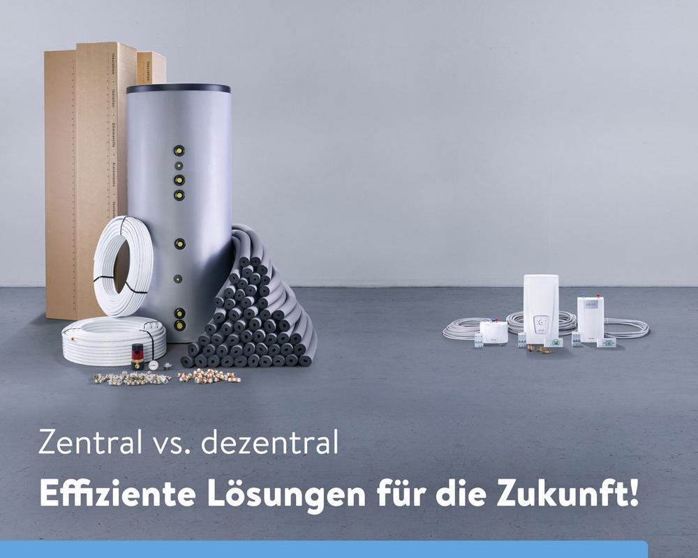 Zentrale vs. dezentrale Warmwasserversorgung (Seminar | Online)