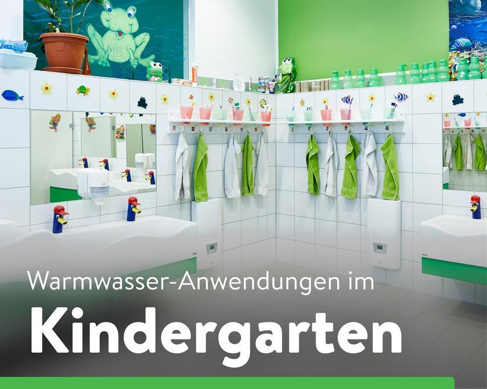 Dezentrale Warmwasserversorgung im Kindergarten (Seminar | Online)