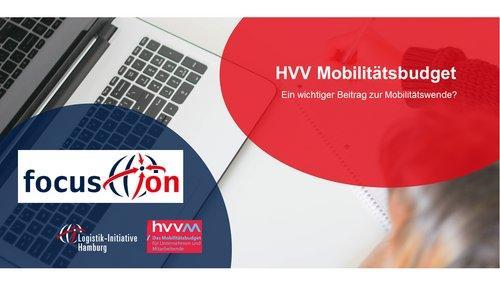 focus.on: HVV Mobilitätsbudget. Ein wichtiger Beitrag zur Mobilitätswende? (Vortrag | Online)