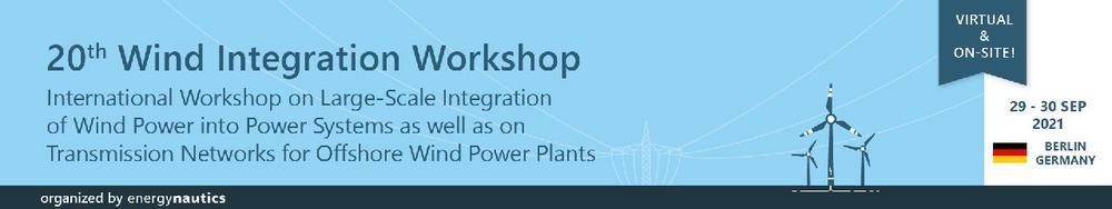 20th Wind Integration Workshop (Konferenz | Online)