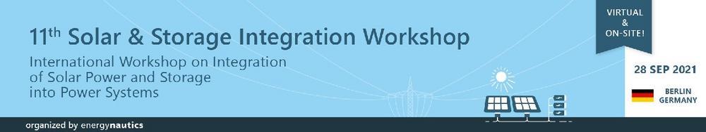 11th Solar & Storage Integration Workshop (Konferenz | Online)