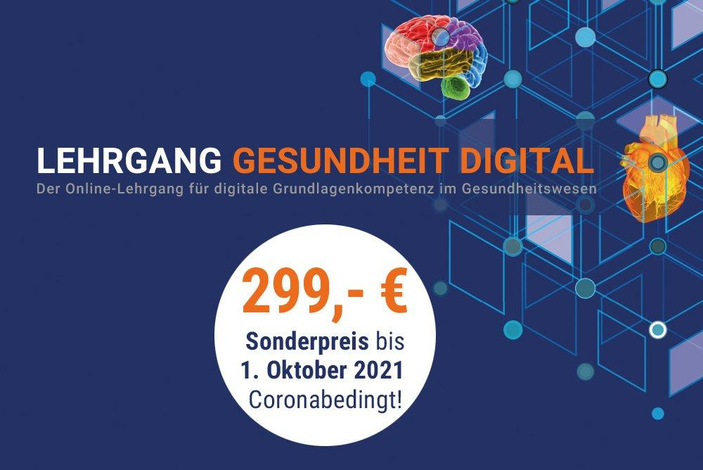 Lehrgang Gesundheit Digital (Schulung | Online)