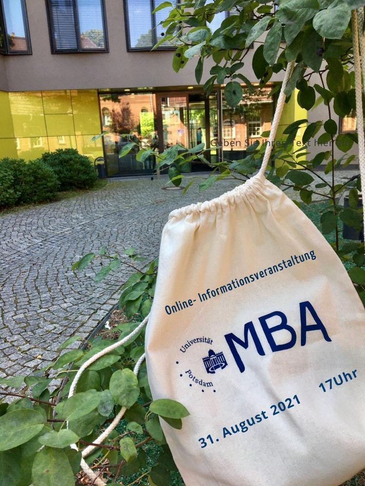 Online-Infoveranstaltung zum Master of Business Administration (MBA) an der Universität Potsdam (Webinar | Online)