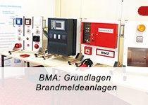BMA: Grundlagen, Einführung, Übersicht Brandmeldeanlagen (Seminar   Berlin)