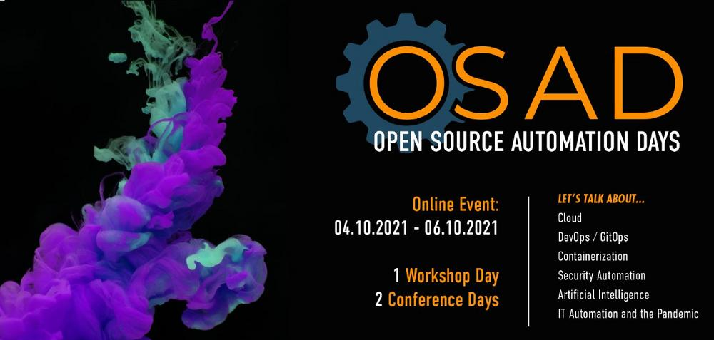 Open Source Automation Days 2021 (Konferenz   Online)