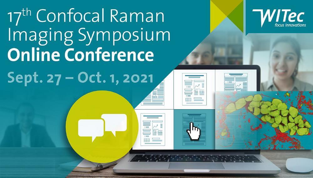 17th Confocal Raman Imaging Symposium (Konferenz   Online)