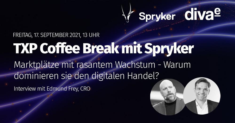 TXP Coffee Break mit Spryker – Markplätze mit rasantem Wachstum (Webinar   Online)