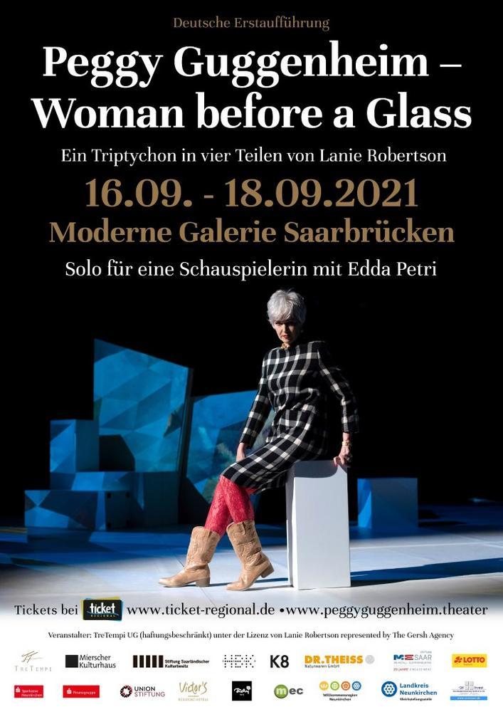 Peggy Guggenheim – Woman before a Glass (Unterhaltung / Freizeit   Saarbrücken)