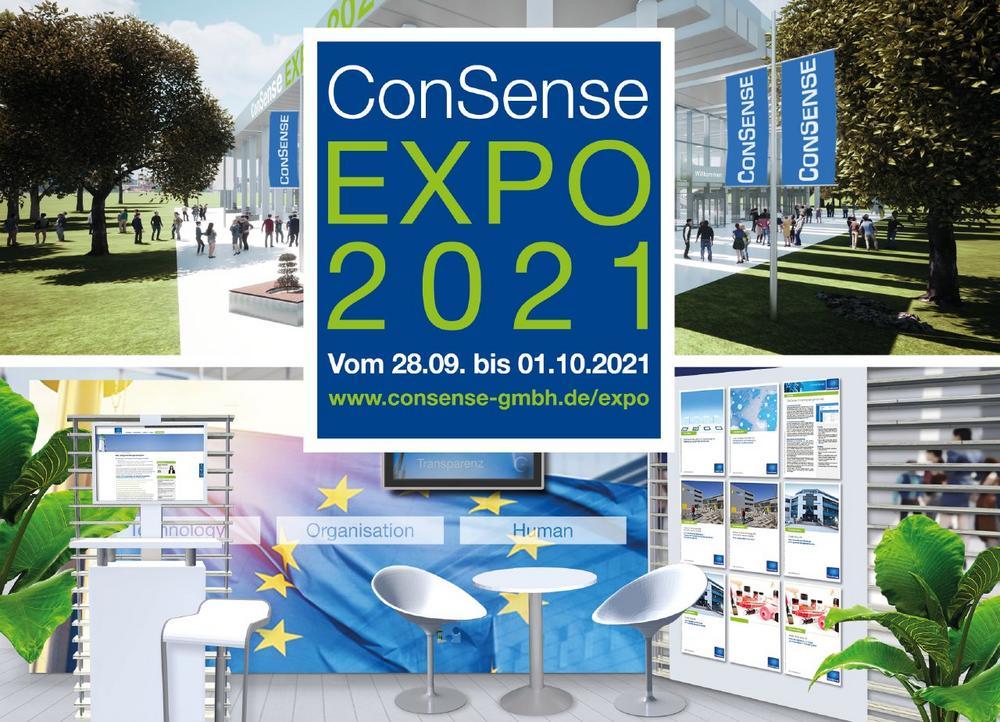 Virtuelle Messe ConSense EXPO: 28.09. bis 01.10.2021 (Messe | Online)