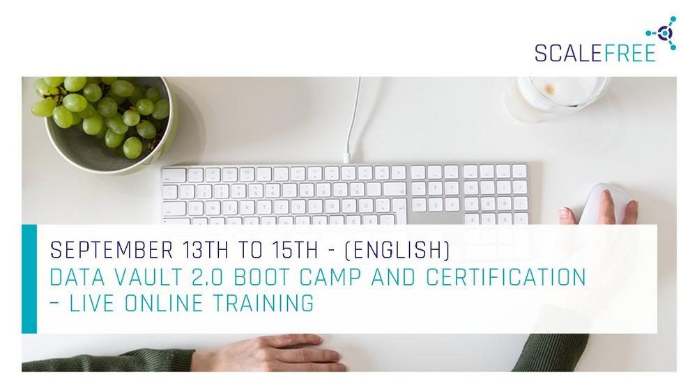 Data Vault 2.0 Boot Camp and Certification (Schulung | Online)