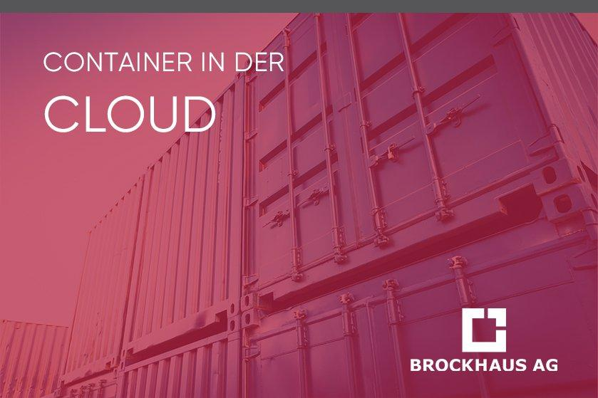 Container in der Cloud (Vortrag   Online)