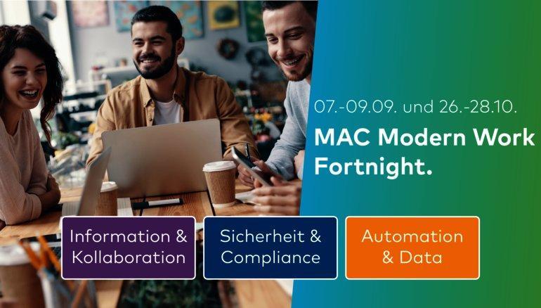 MAC Modern Work Fortnight – Part I (Webinar | Online)