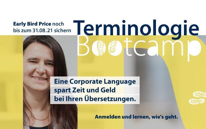 Terminologie-Bootcamp (Schulung | Online)