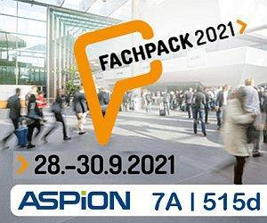 Wir stellen aus: Besuchen Sie uns auf der FACHPACK – jetzt E-Ticket sichern (Messe | Nürnberg)